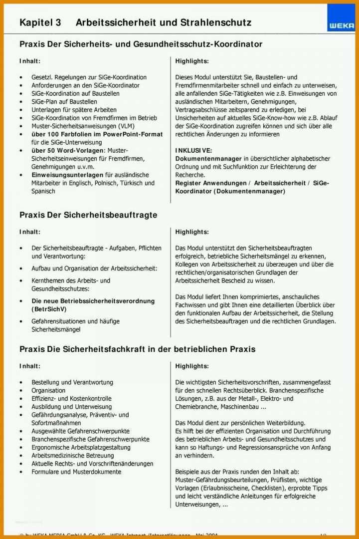 Unterweisung Fur Fremdfirmen Pdf Kostenfreier Download 4