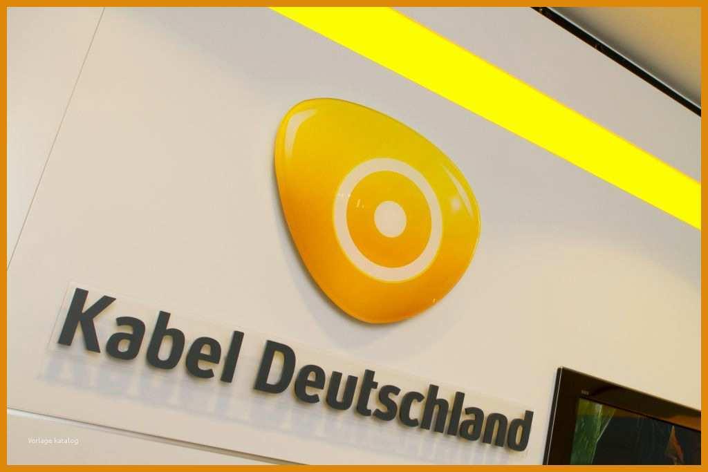 Kabel Deutschland Kündigen Vorlage