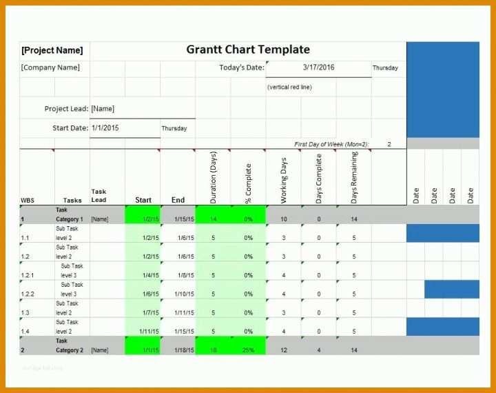 Gantt Diagramm Excel Vorlage 2018  11 M U00f6glichkeiten Kostenlos F U00fcr Sie