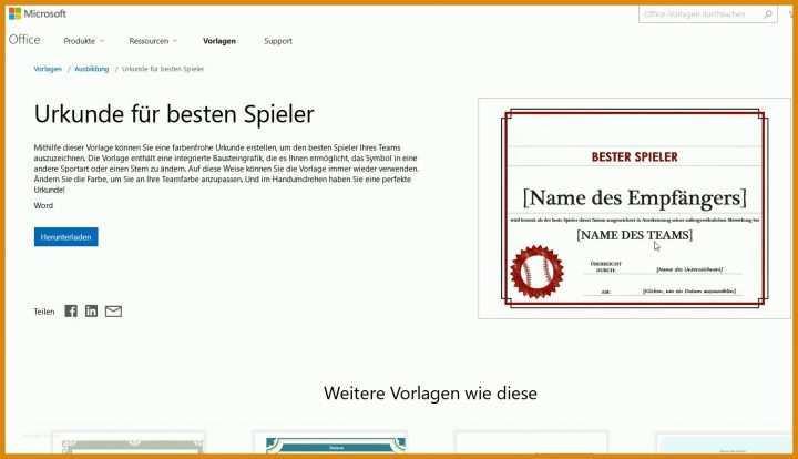 Überraschen Powerpoint Vorlage Urkunde 1513x870