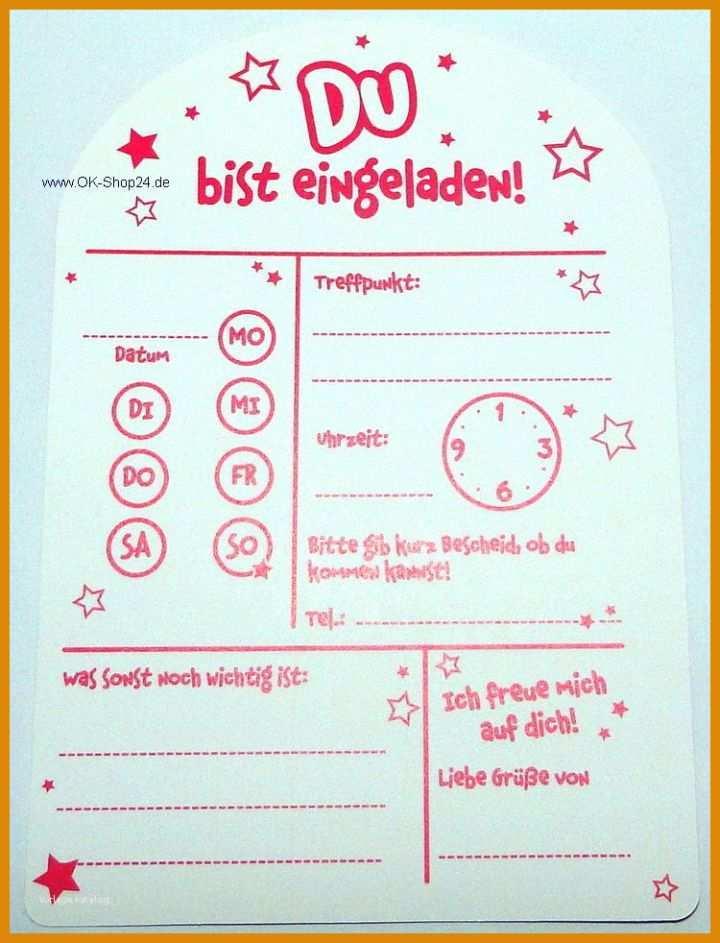 11 Singular Einladungskarten Kindergeburtstag Vorlagen Zum