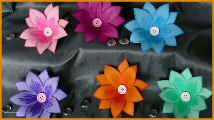 11 Ideal Blumen Basteln Mit Kindern Vorlagen Kostenlos Für Sie