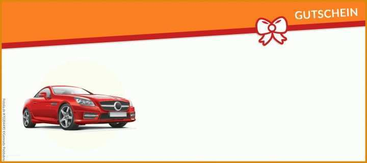 Kreativ Gutschein Autoaufbereitung Vorlage 2126x945