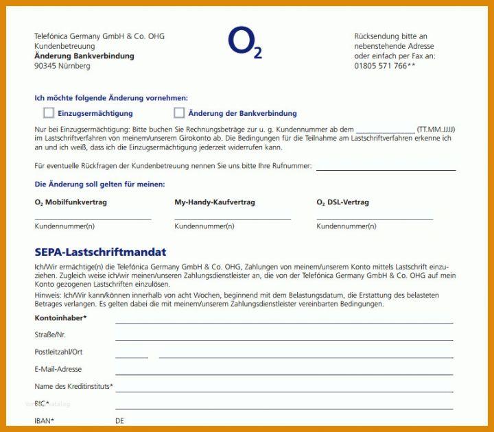 O2 Kündigung Vorlage Mit Rufnummernmitnahme: 11 Designs