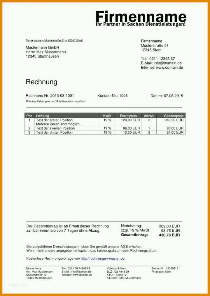 Green Firmenprofil Vorlage 84131 Download
