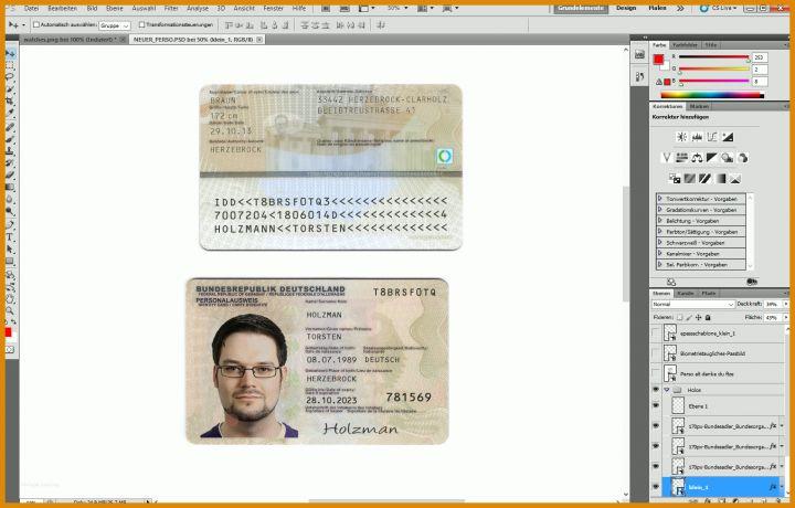 Fake Personalausweis Erstellen