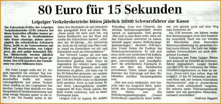 zeitungsartikel schreiben deutsch